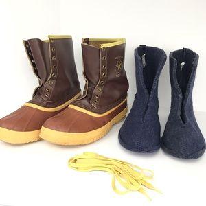 Sorel Shoes - Vintage Sorel Arctic Pac Waterproof Winter Boots